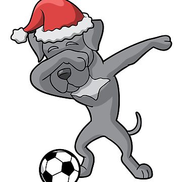 Dabbing Great Dane Soccer Ugly Christmas by frittata