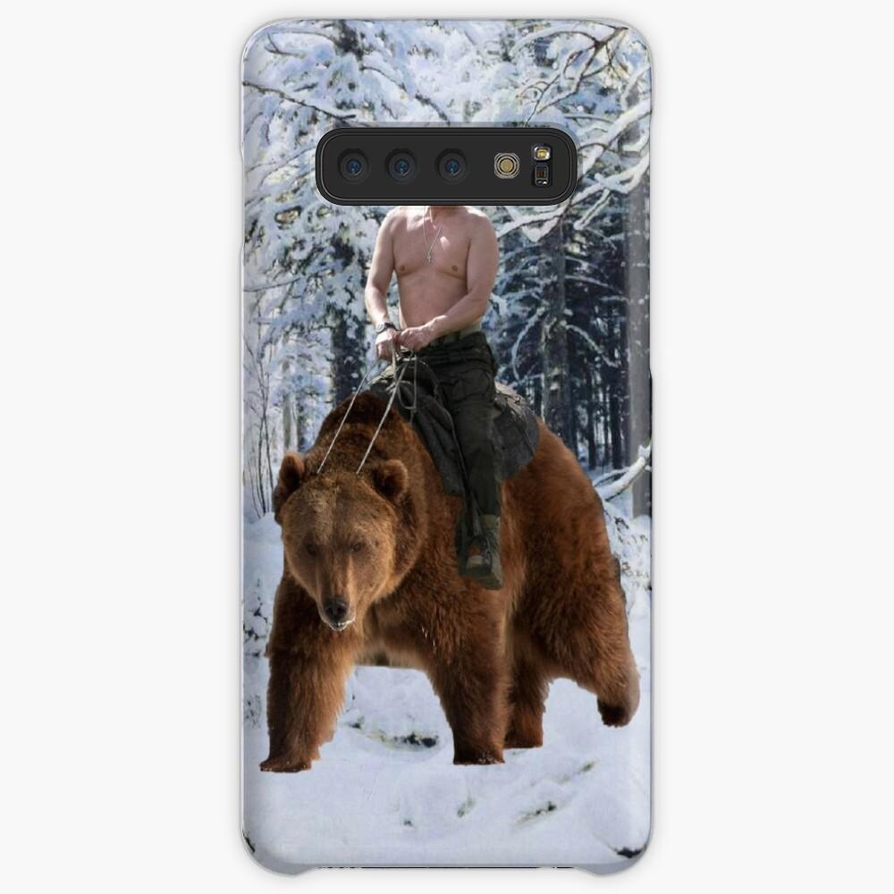 Putin en un oso Funda y vinilo para Samsung Galaxy