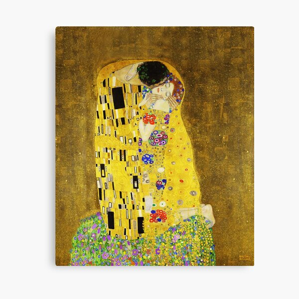 Klimt The Kiss Canvas Print