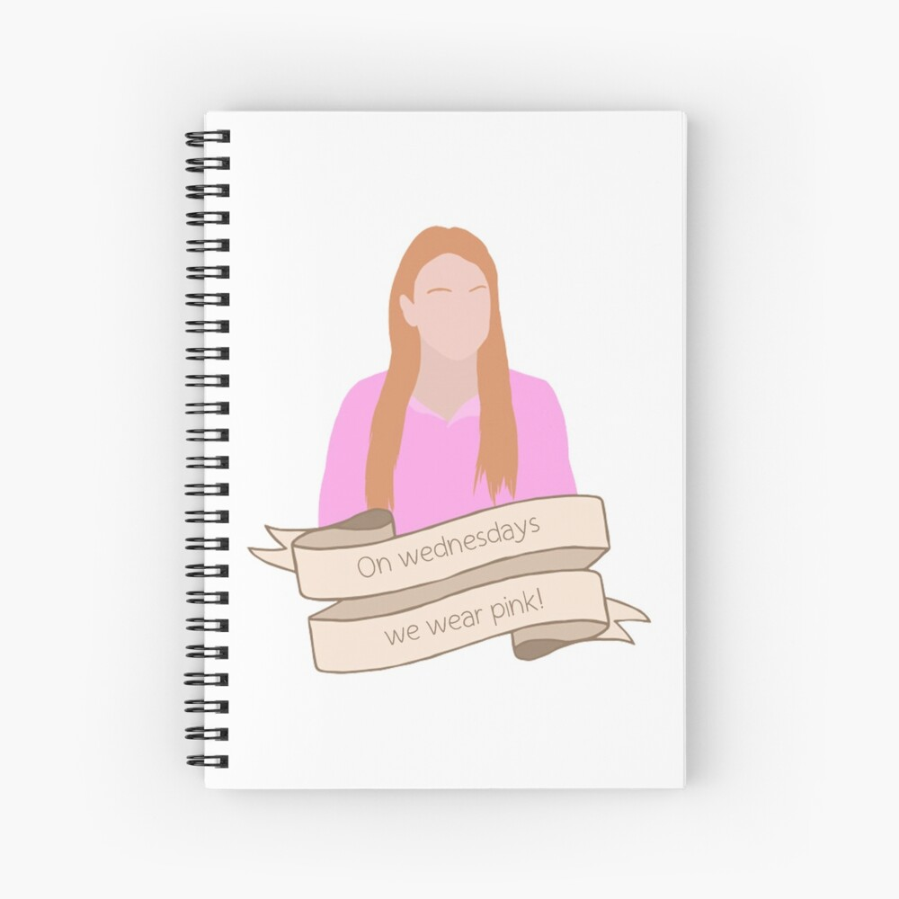 Cady - Mean Girls Cuaderno de espiral