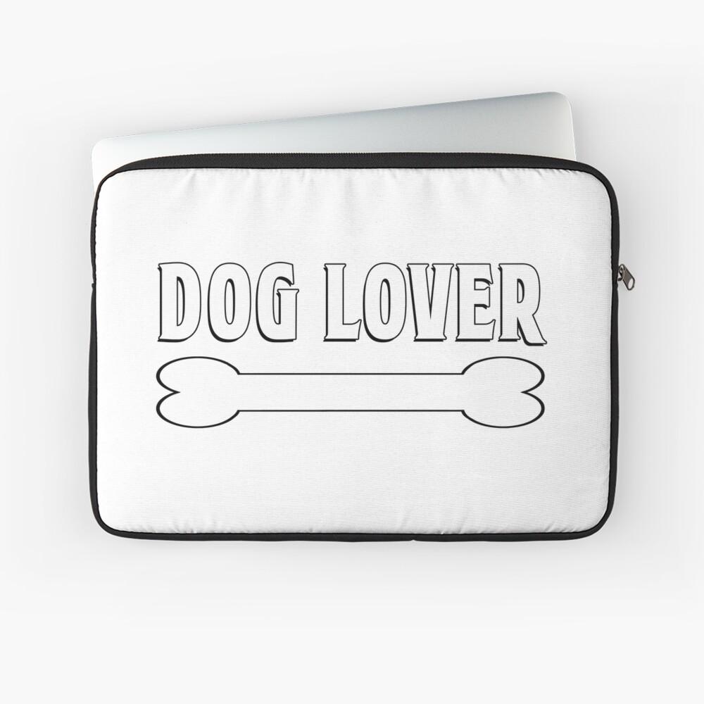 Dog Lover Laptop Sleeve