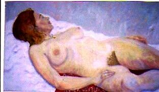 Nude Painting Of Anne. by Richard  Tuvey