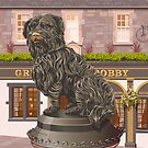 Edinburgh, Greyfriars Bobby by Stephen Millership