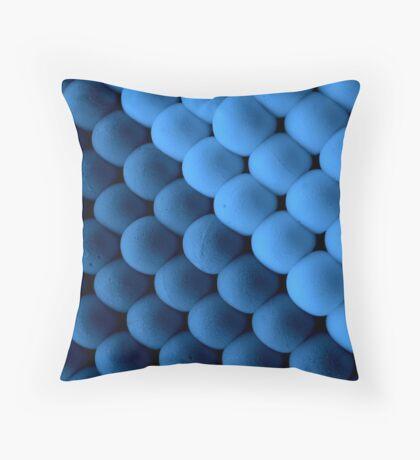 Blue balls Throw Pillow