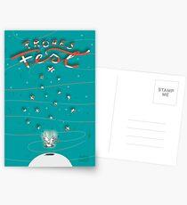 Taube - Frohes Fest Postkarten