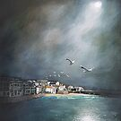 Storm in St Ives by Jenny Urquhart