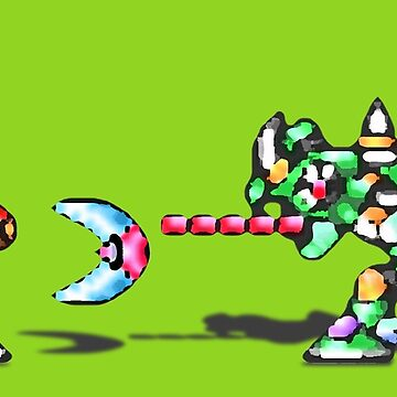 Mega Man X vs. Sting Chameleon by Justin-Case001