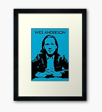 Wes Anderson Framed Print