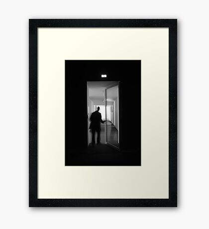 The gallery... Framed Print