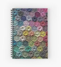 Crochet 2 Pattern Spiral Notebook