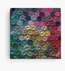 Crochet 2 Pattern Canvas Print