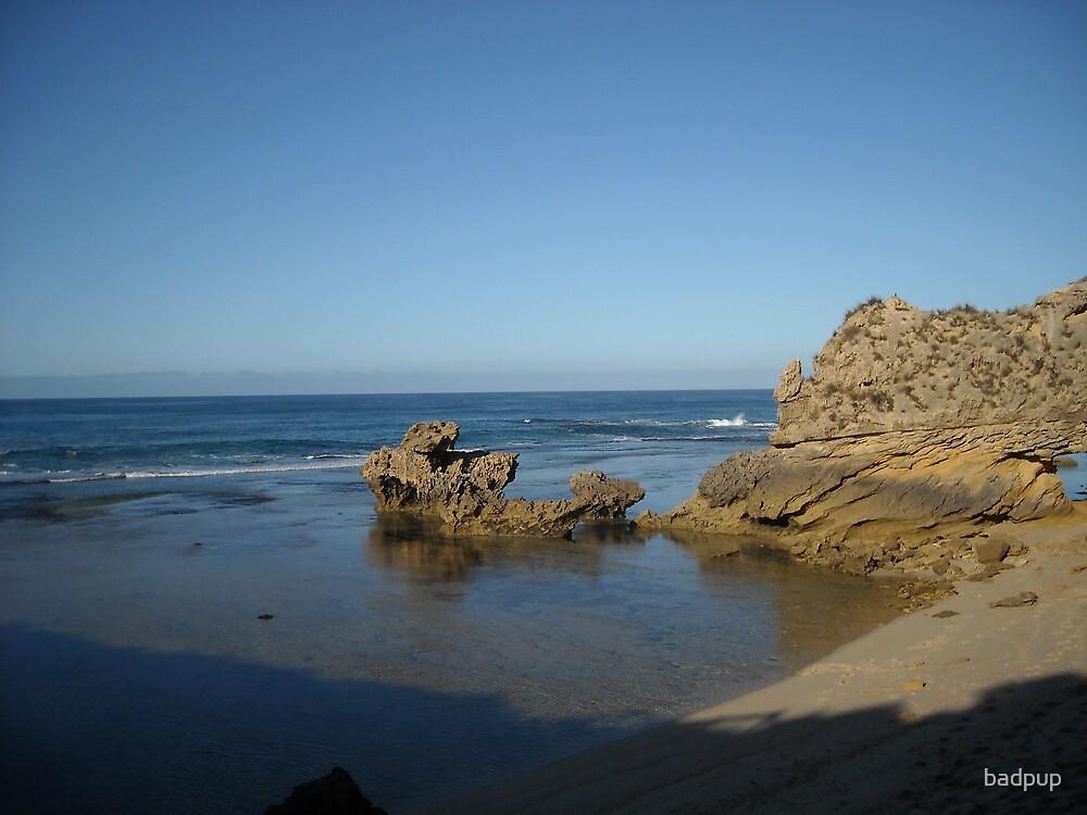 Sorrento Back Beach Sunrise by badpup