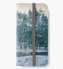 Winter at a Loch Near Kingussie (Cat Burton Photography) iPhone Wallet/Case/Skin