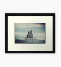 Tranquil Blues Framed Print