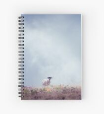 The Lookout (Cat Burton Photography) Spiral Notebook