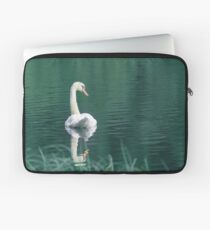Swan Loch (Cat Burton Photography) Laptop Sleeve
