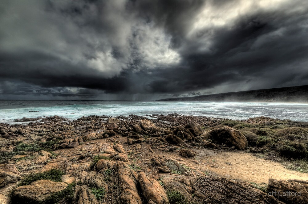 Approaching Squall - Yallingup, Western Australia by Jeff Catford