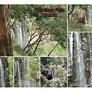 Trentham Falls..Victoria..Collage by judygal