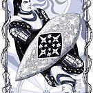 Scion of Kings (violet) by Karolina Wegrzyn