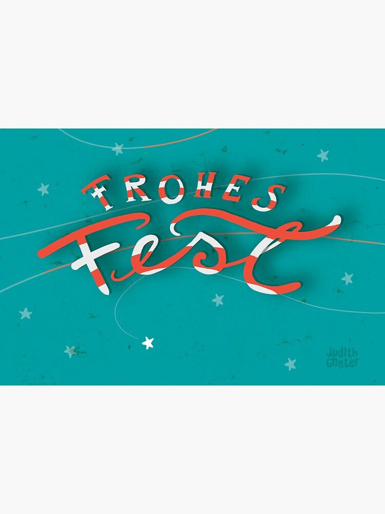 FROHES FEST - mit Sternchen von JudithGanter