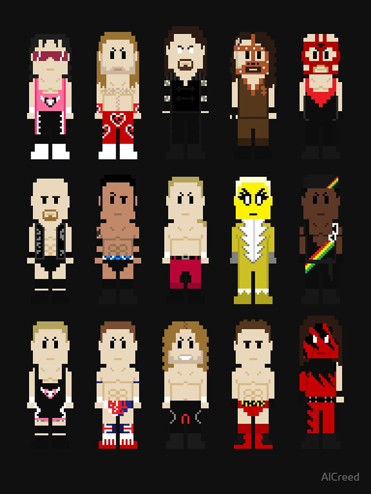 8-Bit Wrestlers '97! by AlCreed