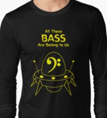 All These Bass Are Belong to Us T-Shirt