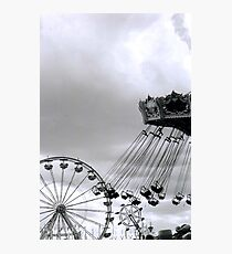 St. Paul, MN - Minnesota State Fair: Midway 2 Photographic Print