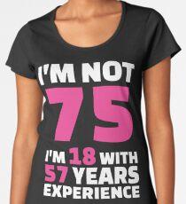 75th Birthday Woman T Shirts