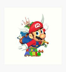Super Mario World 64 Art Print