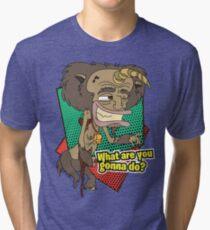 Ricky - Hormone Monster - Big Mouth Tri-blend T-Shirt