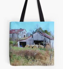 Barn Off The Highway Tote Bag