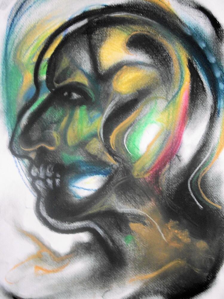 MASK I by Ehivar Flores Herrera