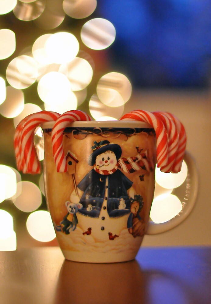 Have a Cup of Cheer by Denise Couturier
