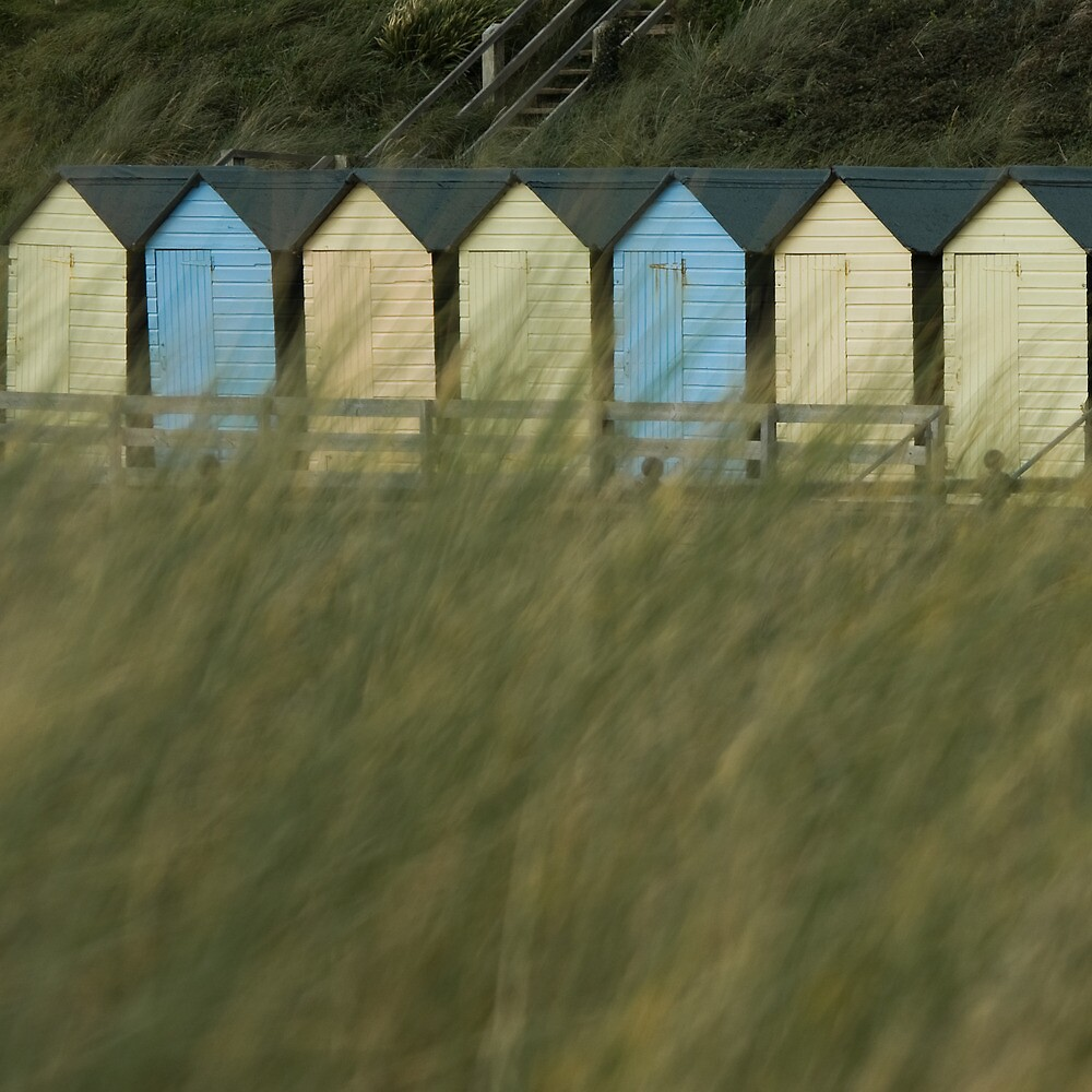 Huts in a Row by TimbosPics