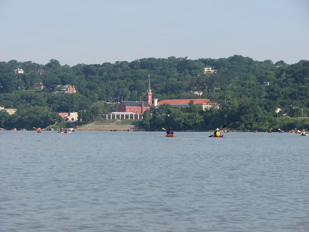 Ohio river paddle by jack robinson
