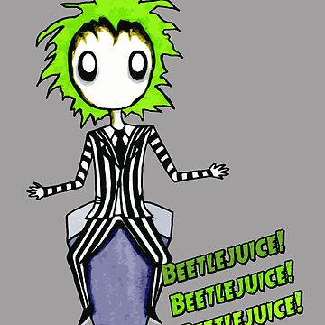 Beetlejuice by Michowl