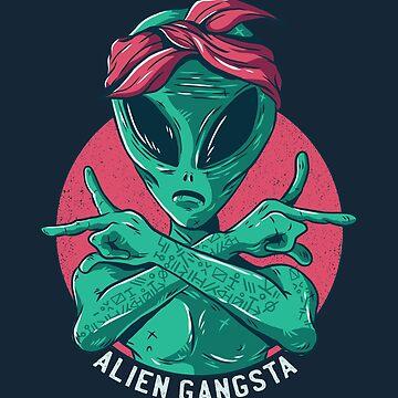 Alien Gang Member by Matucho