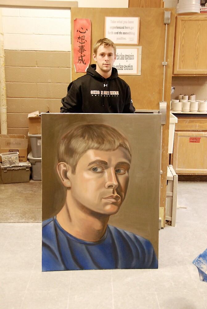 Self portriat by Austin Wieland