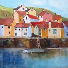 Staithes in May by bevmorgan
