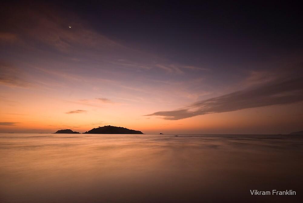 Across the universe by Vikram Franklin