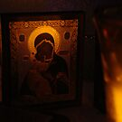 Theotokos Icon by emilycolors