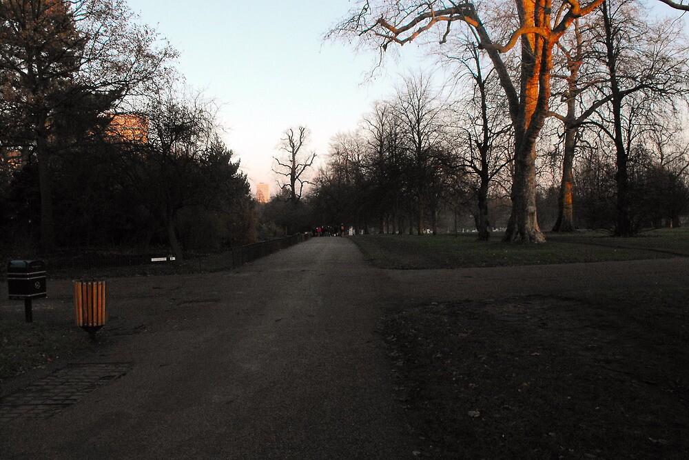promenade in Hyde Park by pjfry