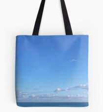 Winter's blues Tote Bag
