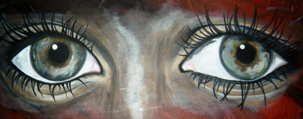 These eyes... by Veronica Williams