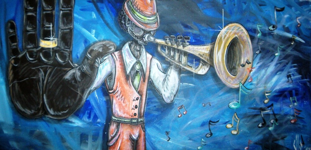 Jazz-Trumpet by Veronica Williams