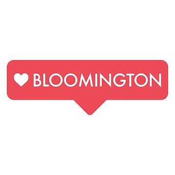 Bloomington Heart Tag by lukassfr