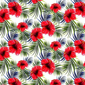 Tropical Floral Pattern by Matucho
