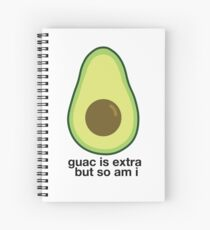 Extra Avocado Spiral Notebook