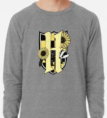 Honigdachswappen (nur Farbsymbol) Leichtes Sweatshirt