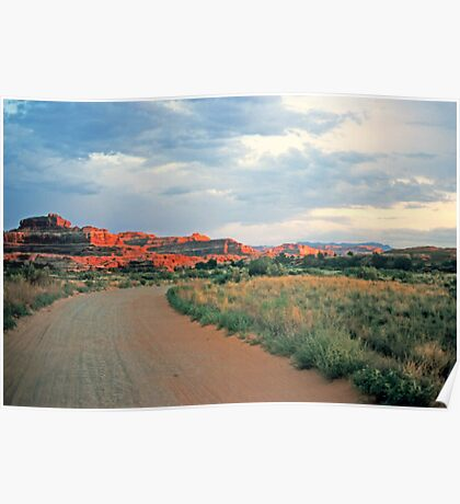 Canyonlands at sunset Poster